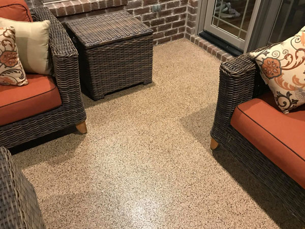 patio floor coating
