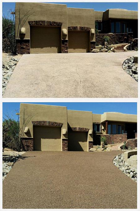 driveway floor coating